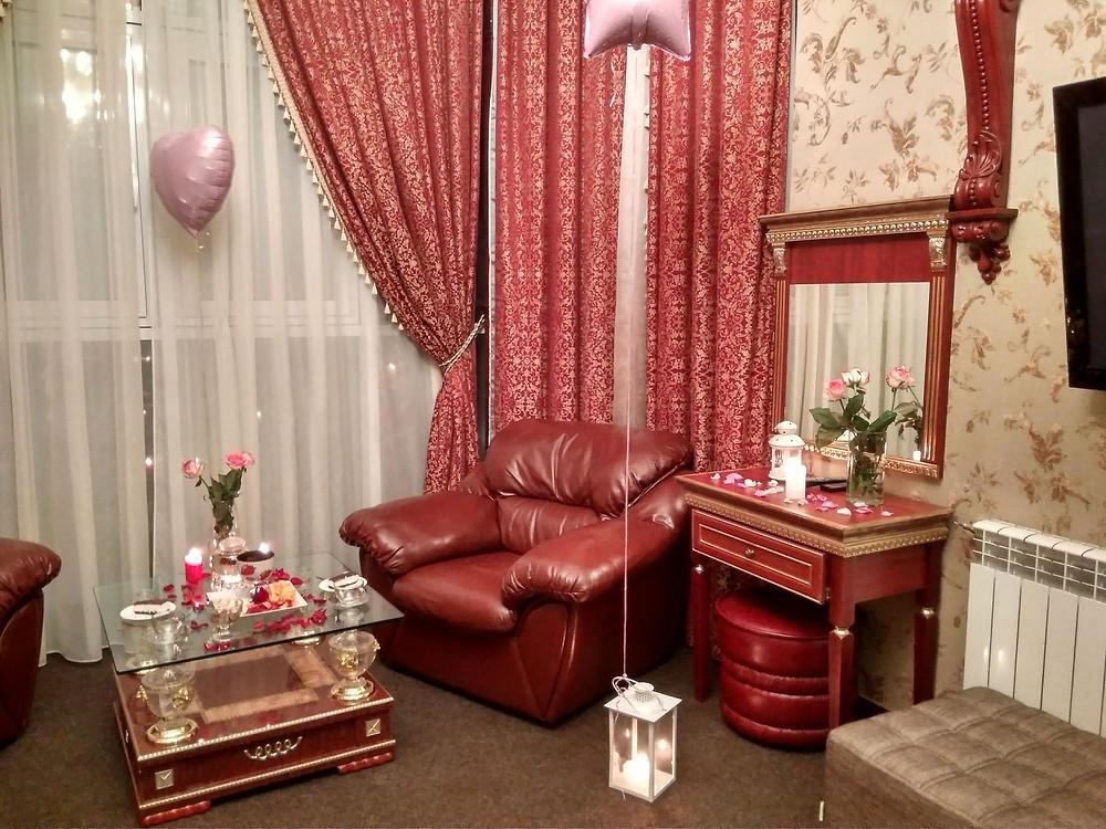 Романтический отель, Киев, сервис романтики Альтечо