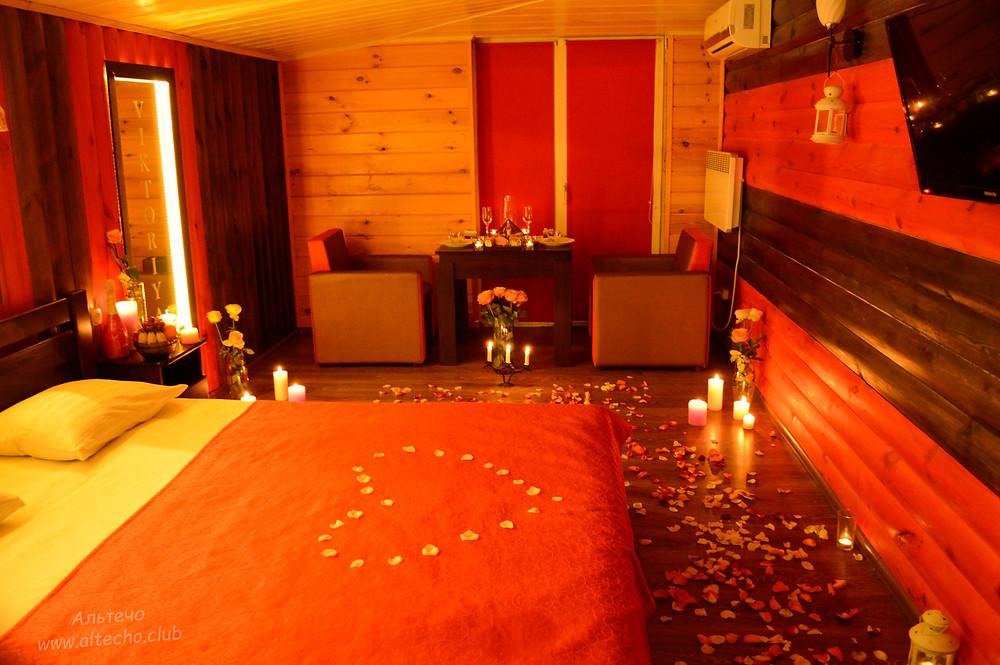 Альтечо свидание на крыше, романтический ужин, вечер для двоих 6