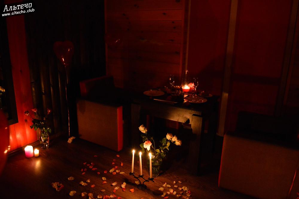 Альтечо, Романтический вечер, Свидание на крыше, ужин для двоих  12