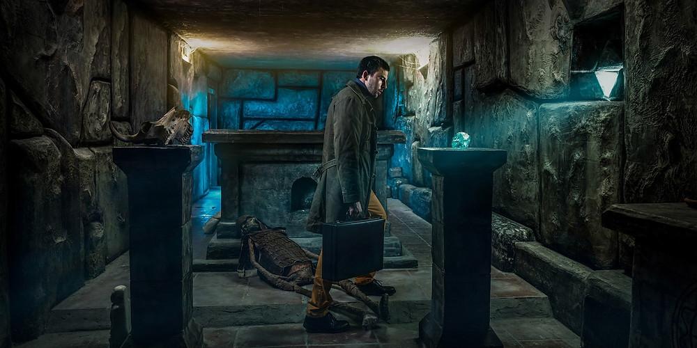 Романтический ужин в подземелье