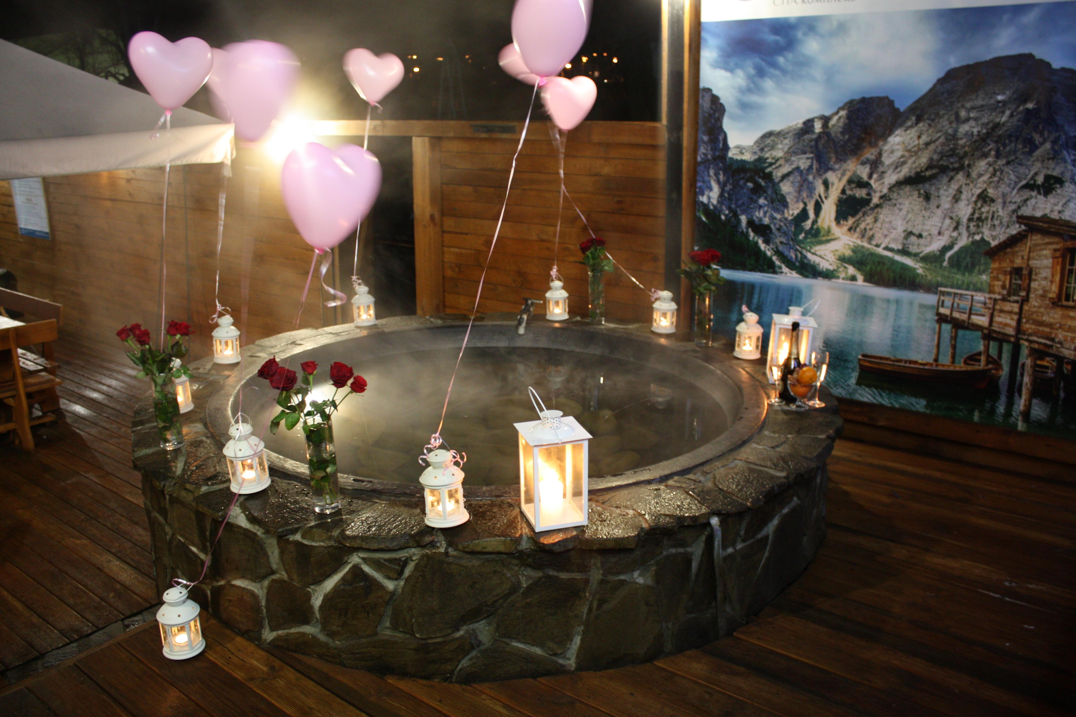 Романтический ужин в горячем чане Афродиты под открытым небом от сервиса романтики Альтечо (3)
