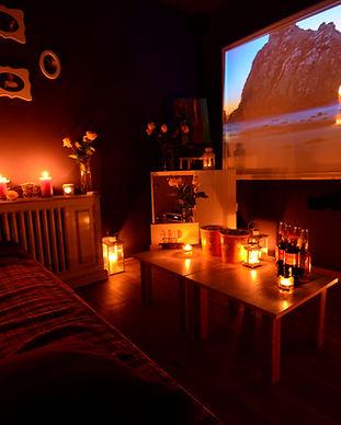 Романтический ужин и свидание в кинотеатре для двоих в Киеве