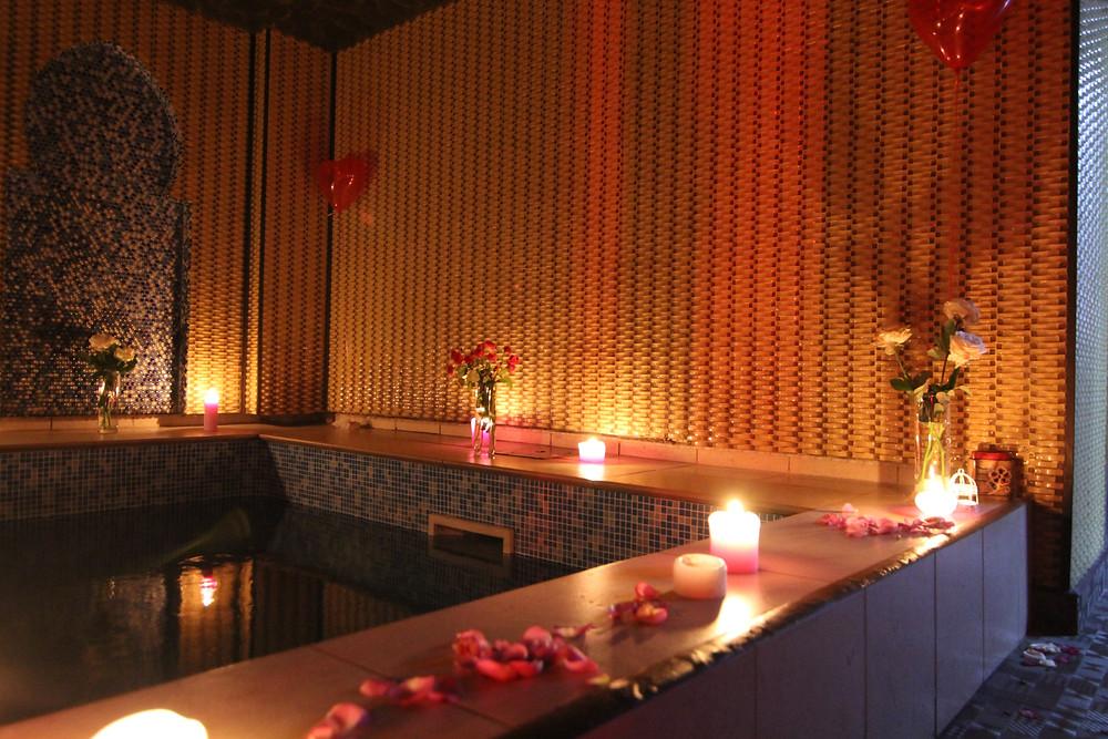 Альтечо, романтический ужин в бассейне 4