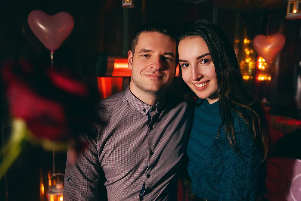 Романтический ужин для двоих влюбленных, Киев, Альтечо