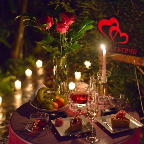 Романтический ужин у Водопада в Джунглях