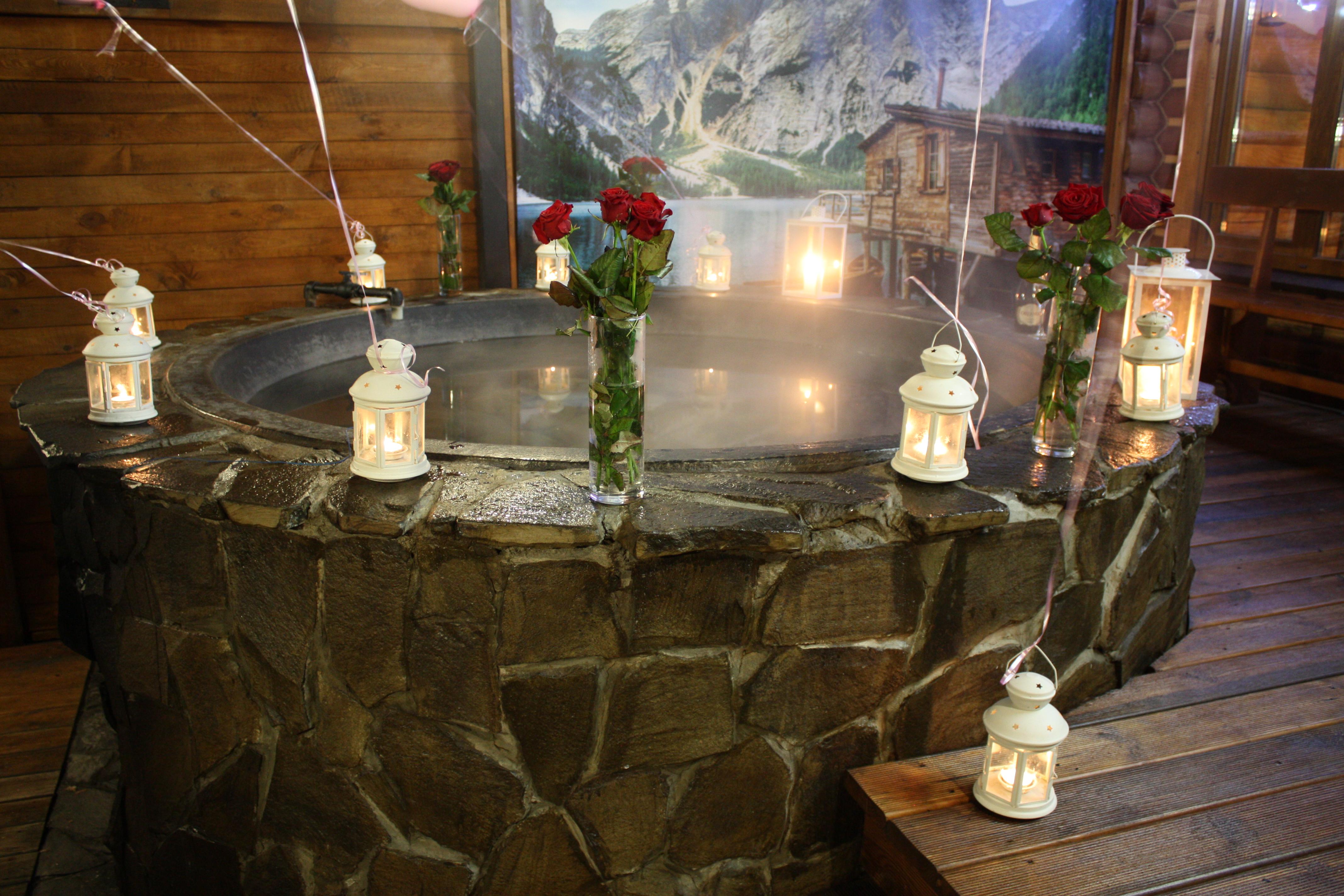 Романтический ужин в горячем чане Афродиты под открытым небом от сервиса романтики Альтечо (32)