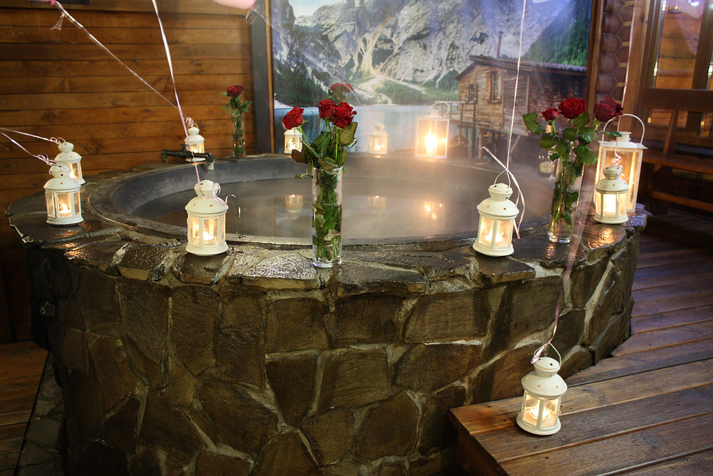 Романтический ужин  в горячем чане, Киев, Альтечо