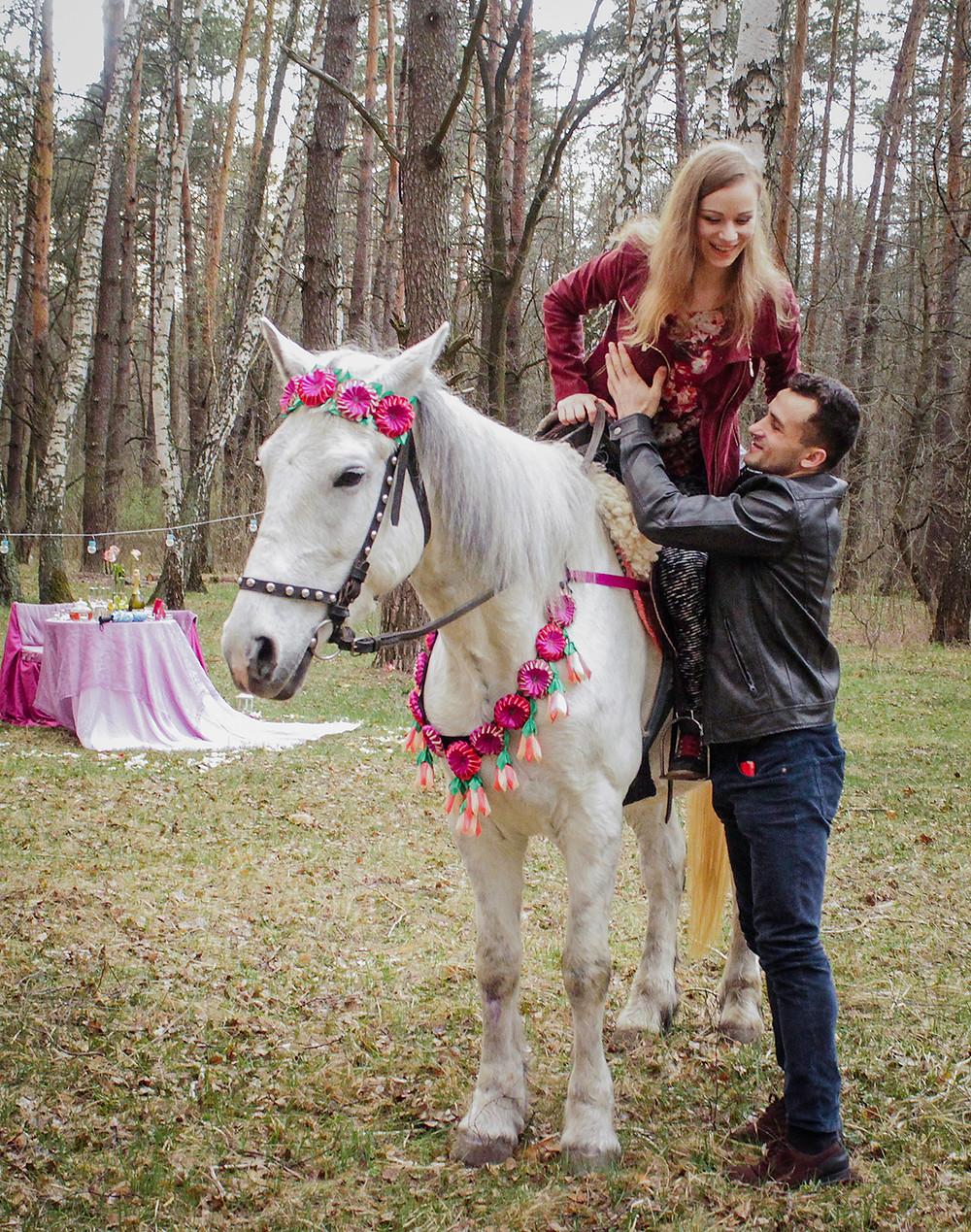 Альтечо, романтический ужин в лесу с прогулкой на лошадях 11