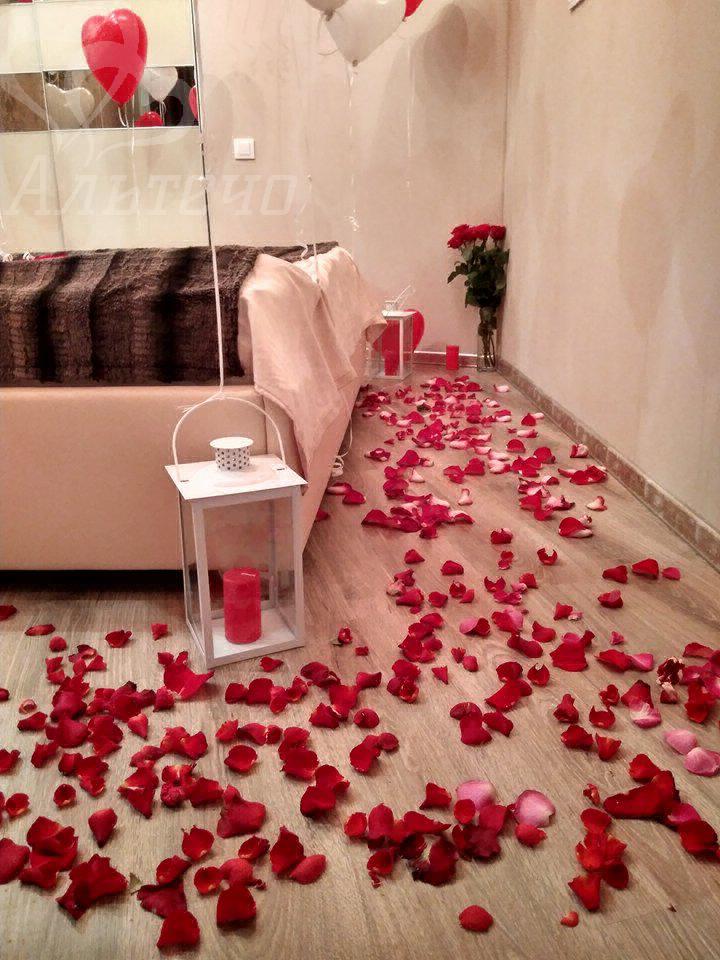 Спасльня, Декор романтический ужин дома, Киев, Альтечо  (7)