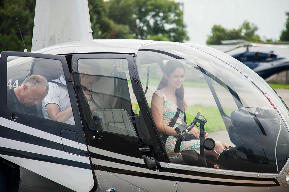 Предложение на вертолёте, Киев, Сервис романтики Альтечо