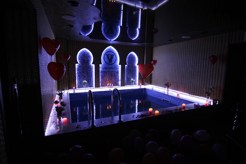 Альтечо, романтический ужин в бассейне 19