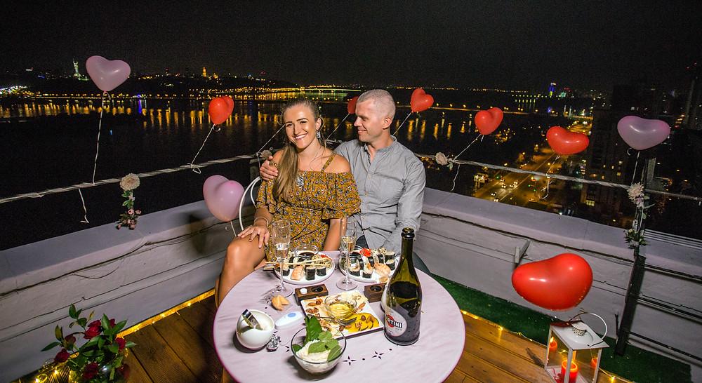 Романтика для двоих, сервис романтики Киев, Альтечо