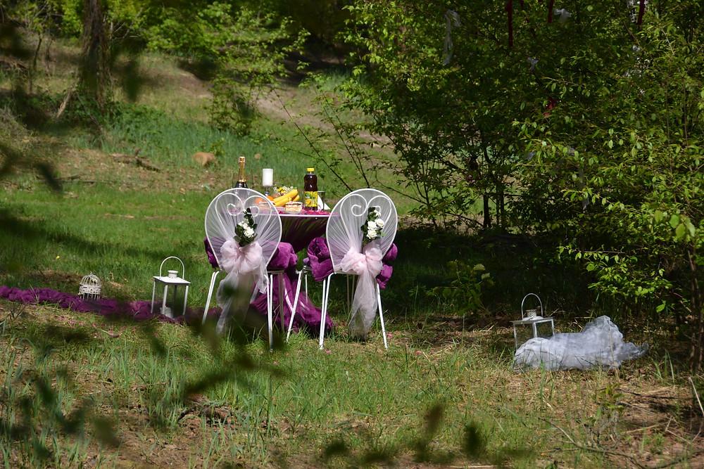 Романтический ужин в лесу с прогулкой на лошадях, Киев, Сервис романтики Альтечо 9