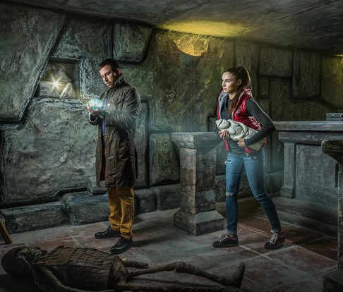 Романтический ужин в Подземелье с сокровищами
