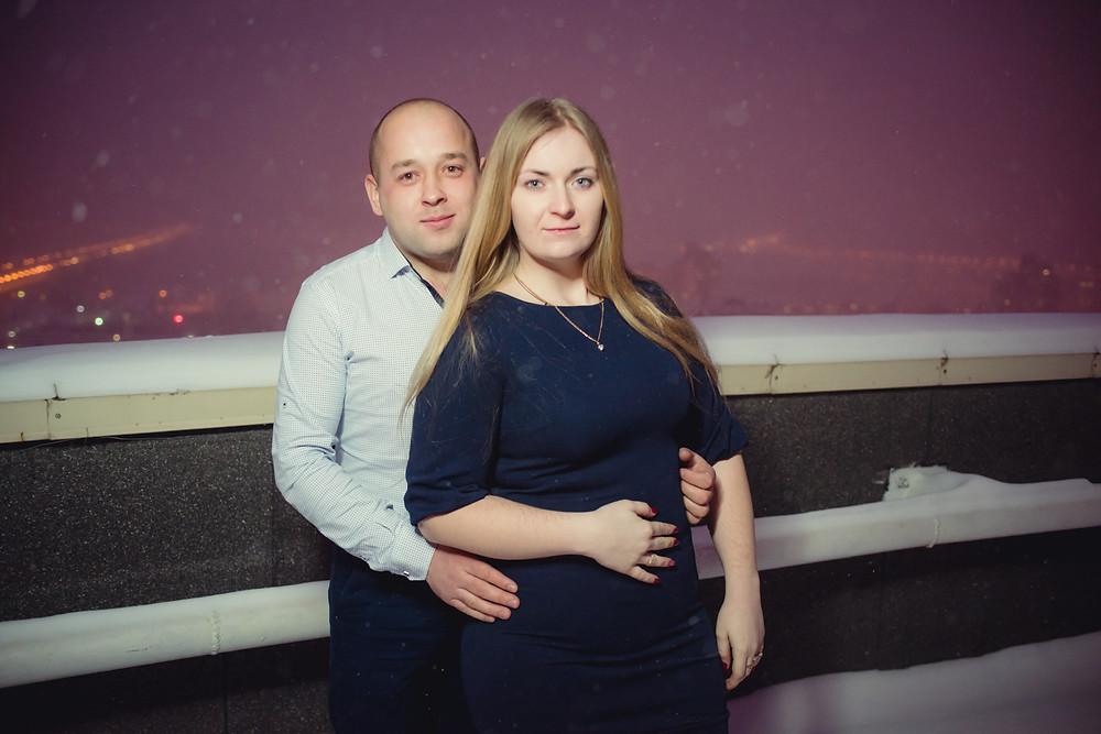 История предложения руки и сердца на крыше, Киев 24
