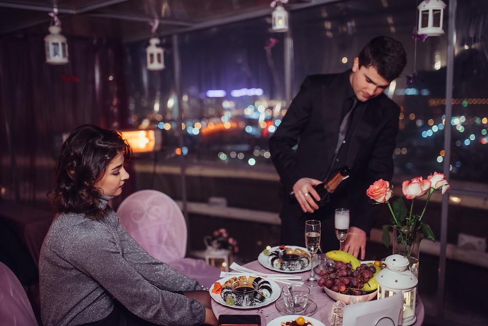 Романтический ужин, Киев, Альтечо