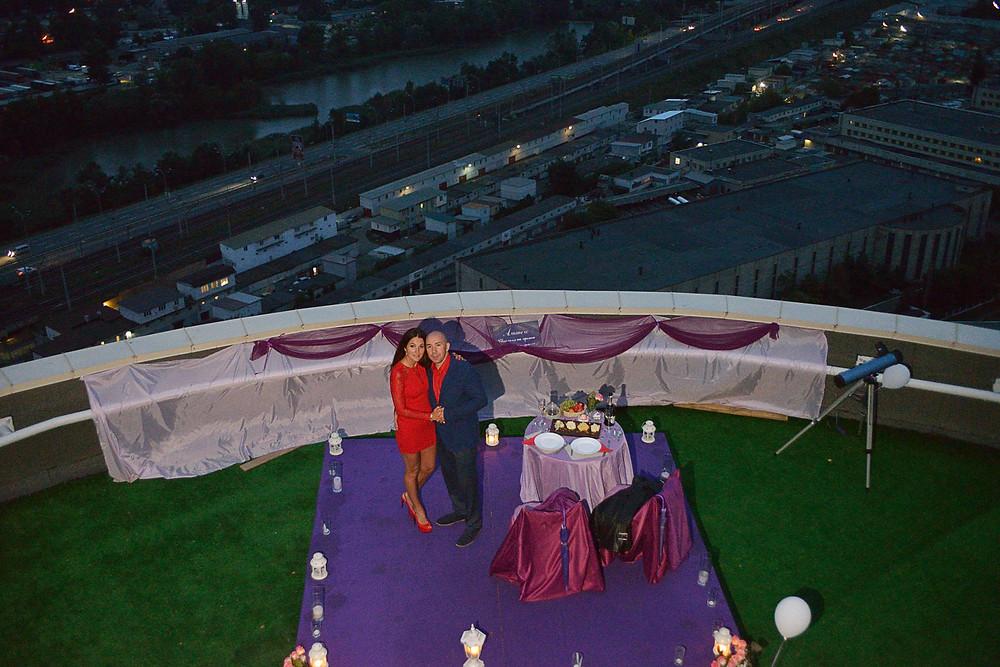 Новые эмоции - свидание на крыше Альтечо 6