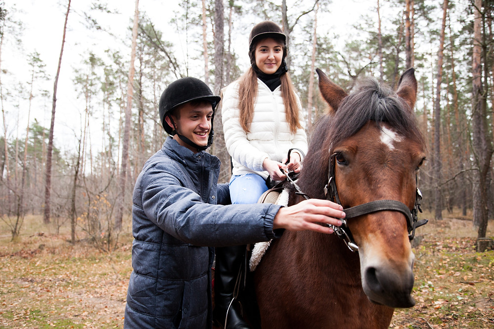 Романтический ужин в лесу с прогулкой на лошадях от сервиса романтики Альтечо  3