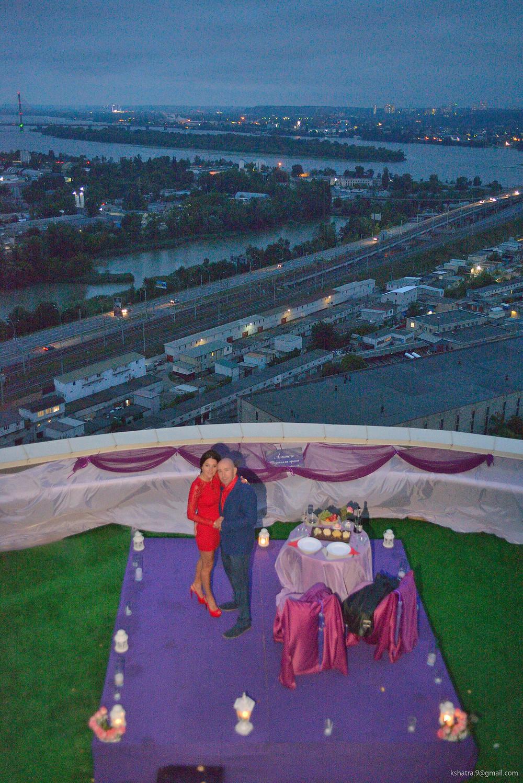 Новые эмоции - свидание на крыше Альтечо 7