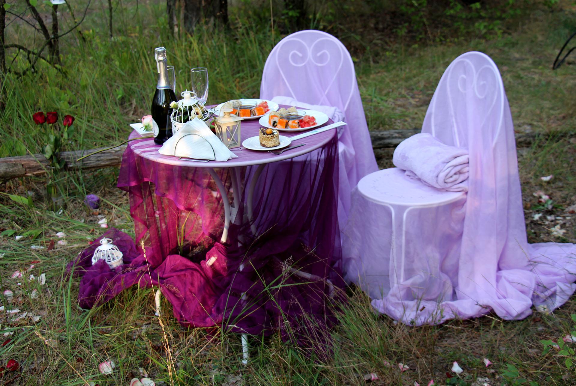 Ужин в лесу от Альтечо (26)