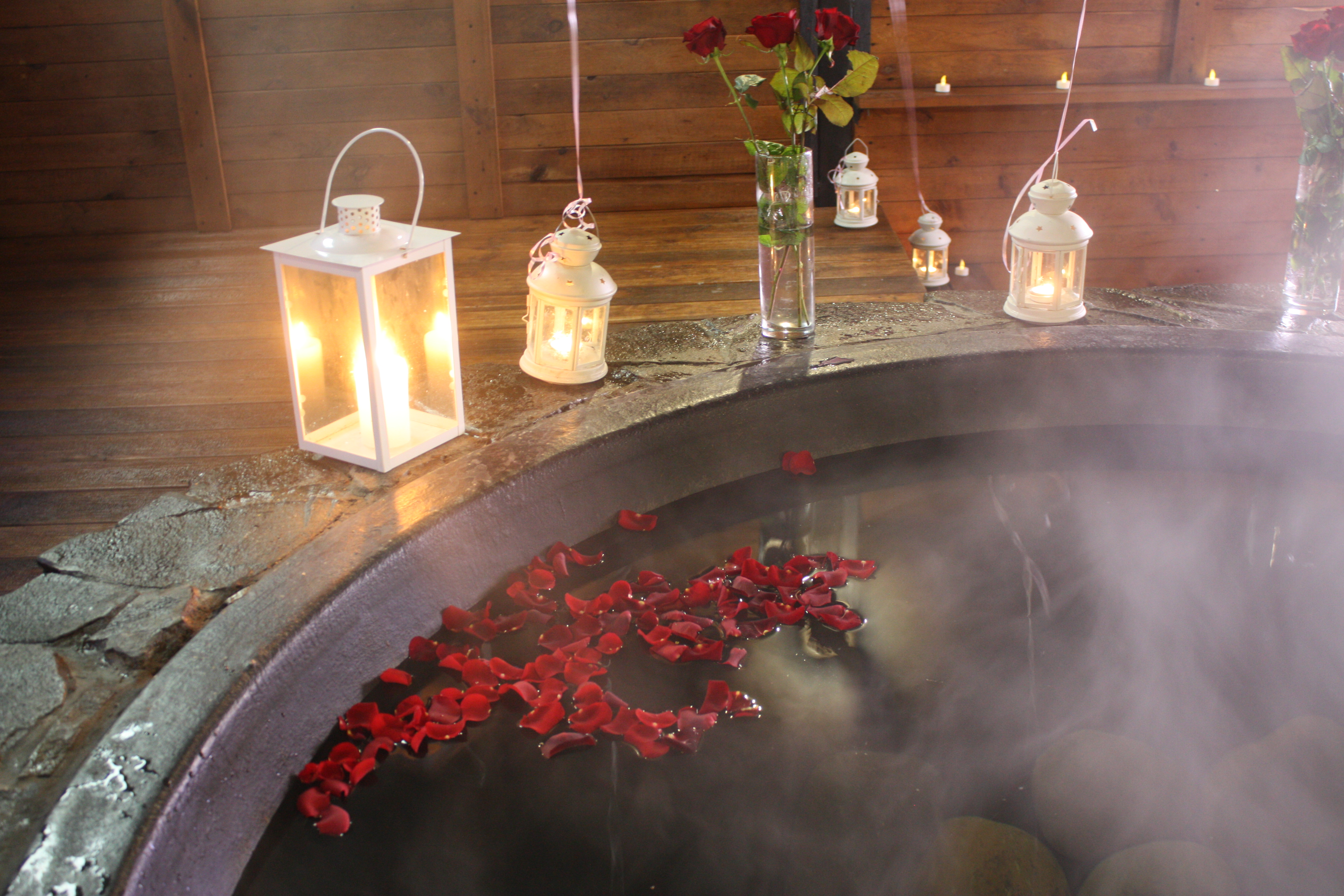 Романтический ужин в горячем чане Афродиты под открытым небом от сервиса романтики Альтечо (9)