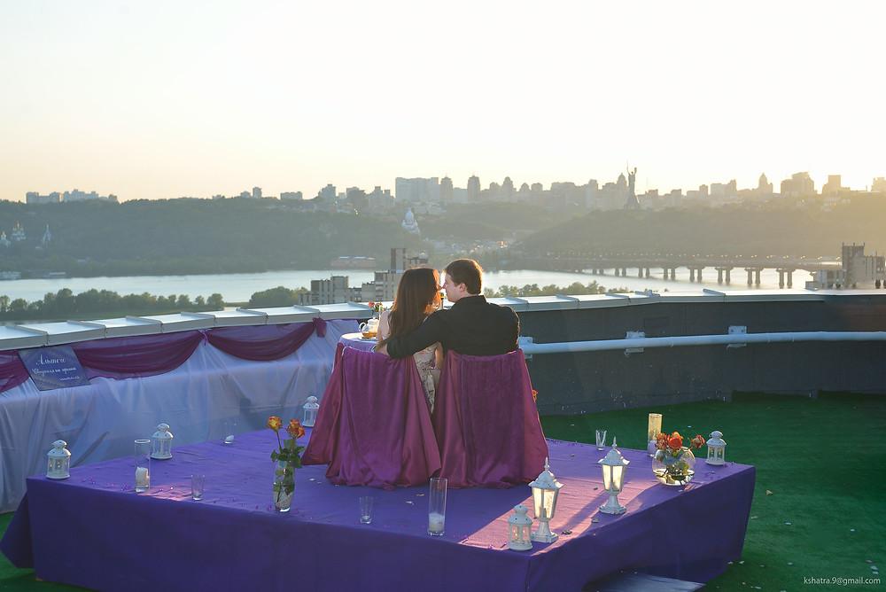 Закат, Альтечо свидание на крыше 2