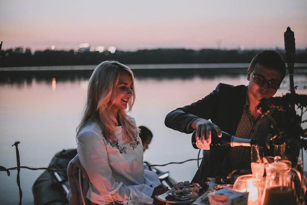 Свидание на плоту, Киев, Сервис романтики Альтечо 2