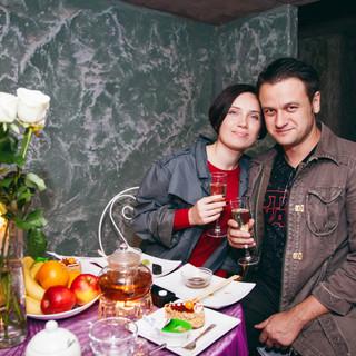 Романтический ужин в подземелье от серви