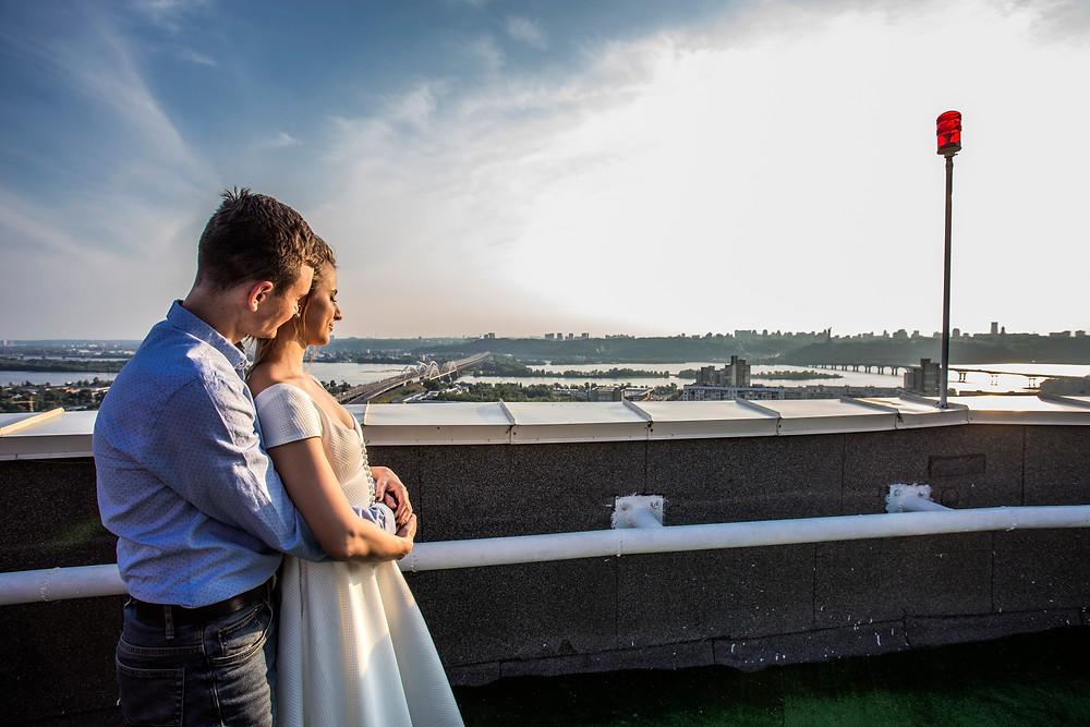 свидание на крыше Киев,  сервис романтики Альтечо