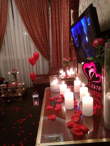 Романтика в отеле, Киев, Альтечо