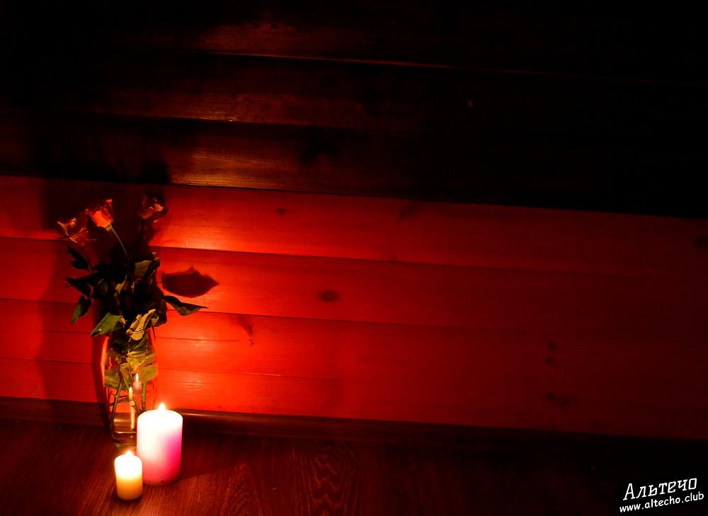 Альтечо, Романтический вечер, Свидание на крыше, ужин для двоих  17