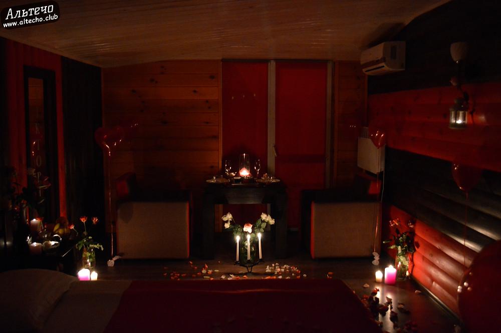 Альтечо, Романтический вечер, Свидание на крыше, ужин для двоих  4