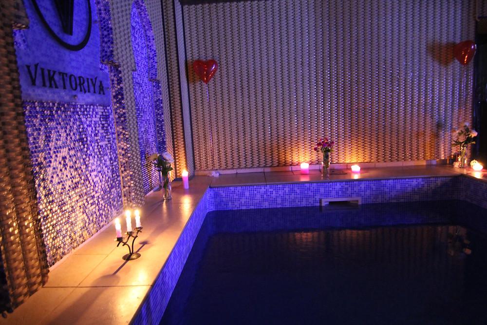 Альтечо, романтический ужин в бассейне 9
