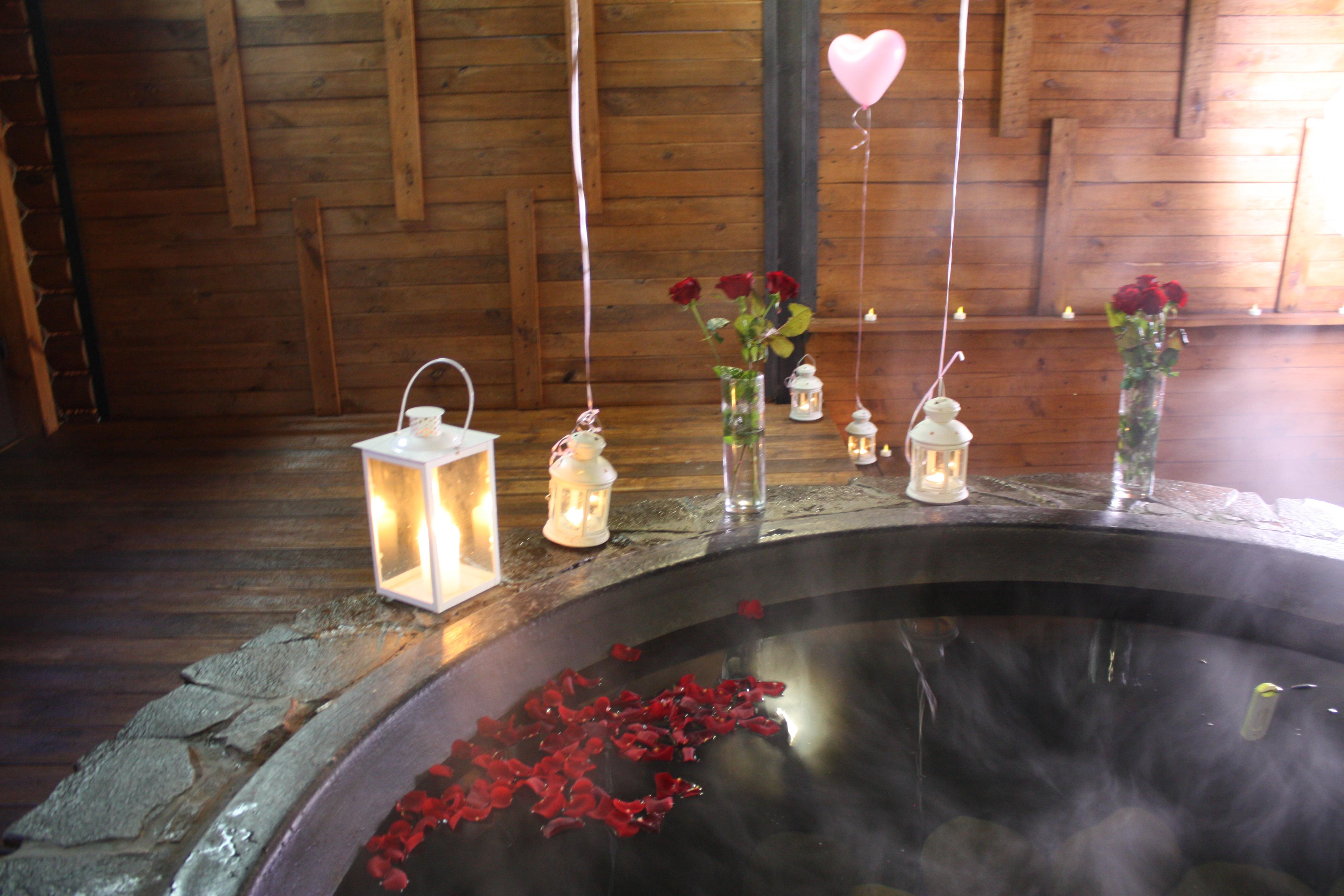 Романтический ужин в горячем чане Афродиты под открытым небом от сервиса романтики Альтечо (8)