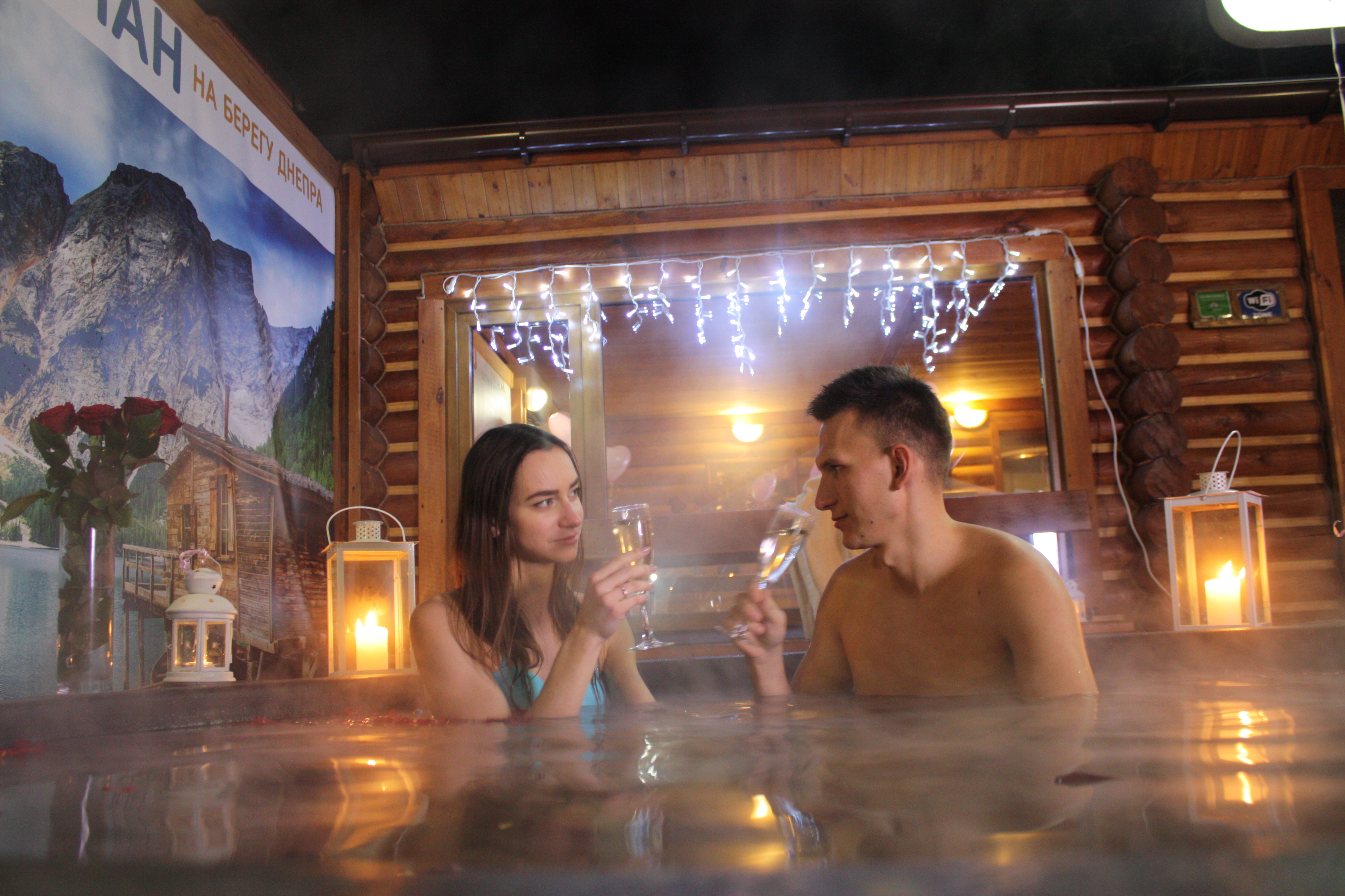 Романтический ужин в горячем чане Афродиты под открытым небом от сервиса романтики Альтечо (16)