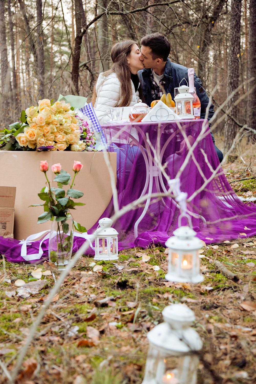 Романтический ужин в лесу с прогулкой на лошадях от сервиса романтики Альтечо 9