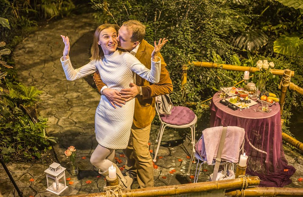 Ужин в оранжерее, Киев, Альтечо