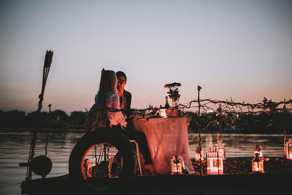 Свидание на плоту, Киев, Сервис романтики Альтечо 4