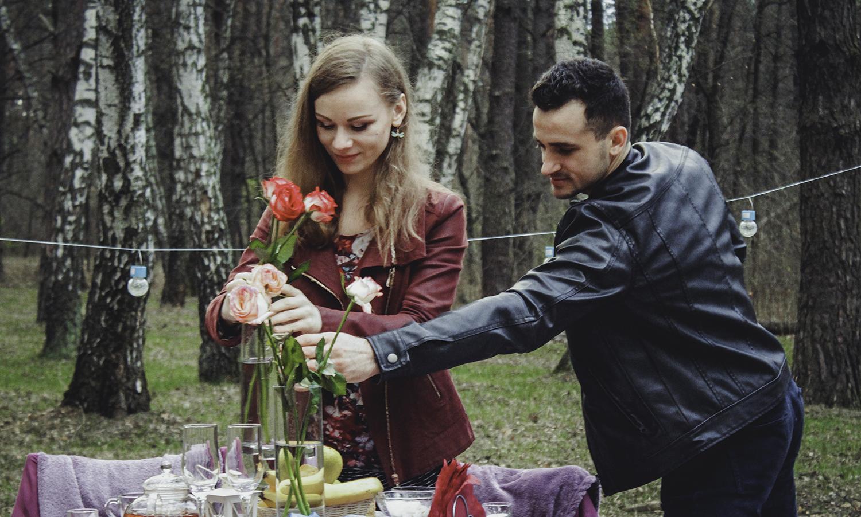 Альтечо, романтический ужин в лесу (20)
