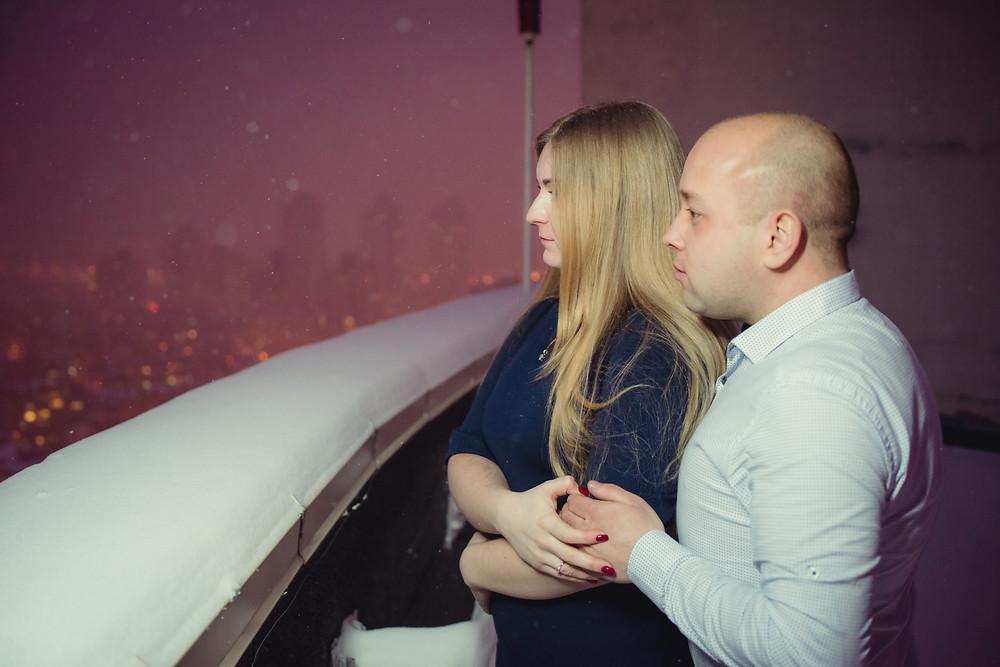 История предложения руки и сердца на крыше, Киев 26