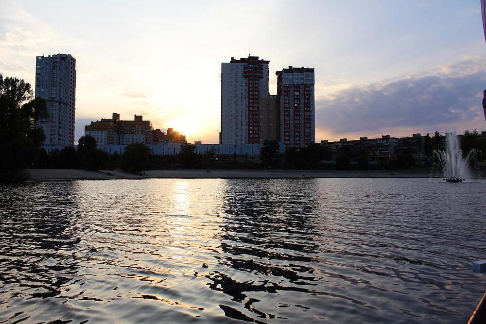 Романтика на озере Тельбин