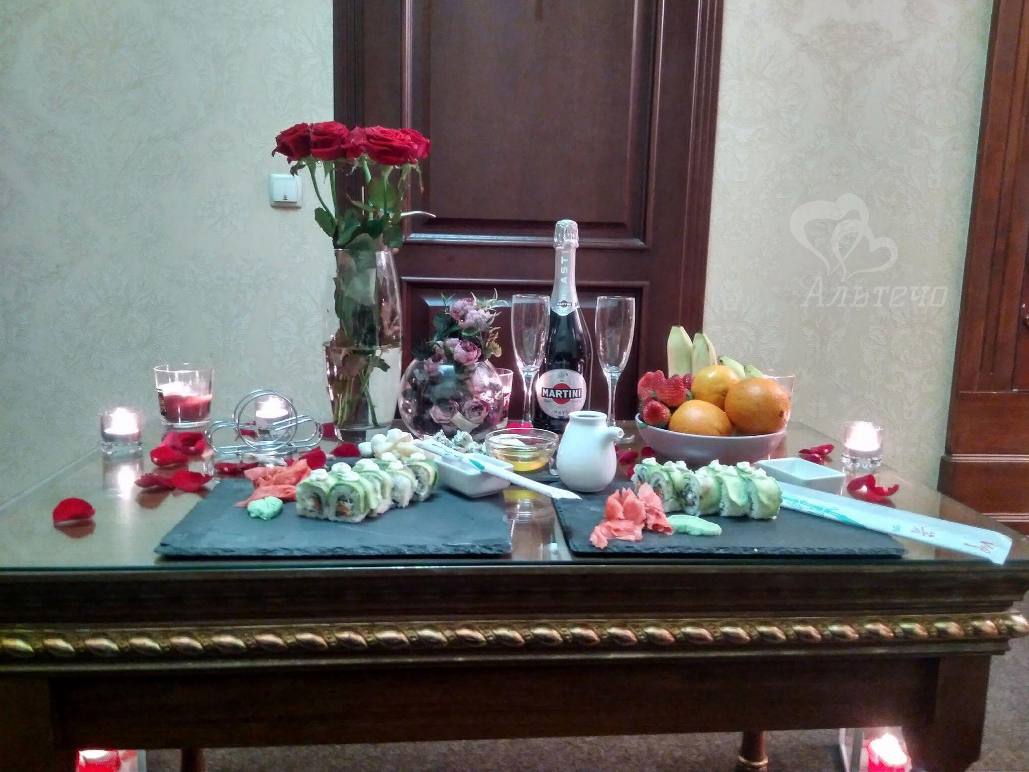 Романтический ужин дома, Киев, Альтечо (8)