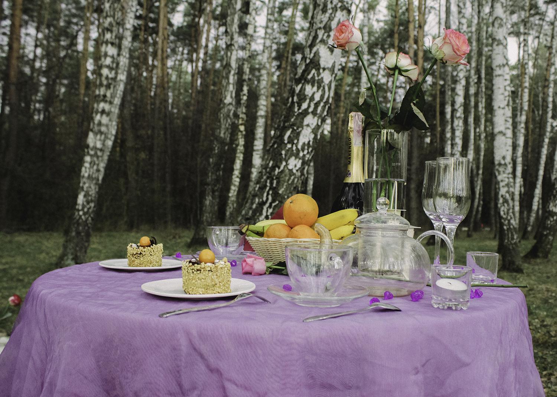 Альтечо, романтический ужин в лесу (3)