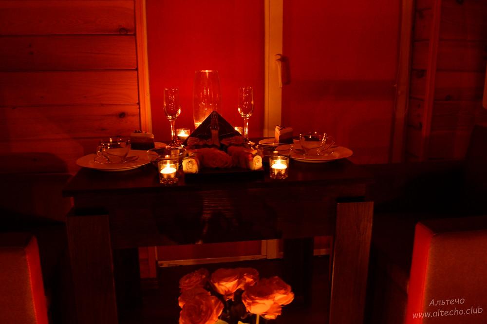 Альтечо свидание на крыше, романтический ужин, вечер для двоих 12