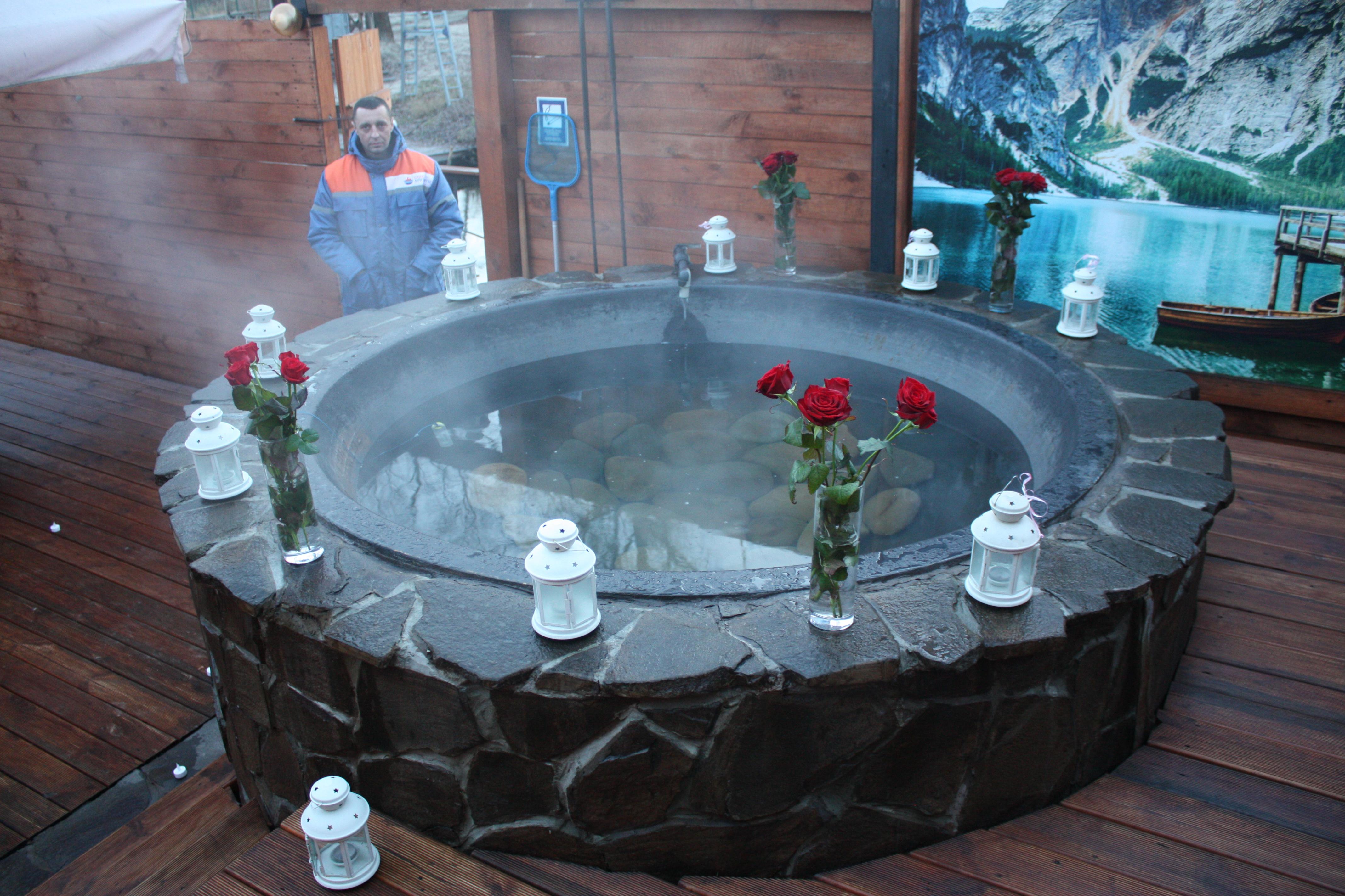 Романтический ужин в горячем чане Афродиты под открытым небом от сервиса романтики Альтечо (18)