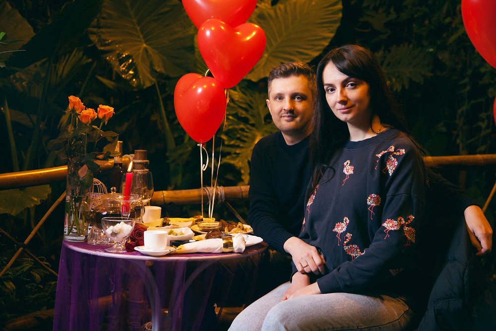 Романтика в Джунглях у водопада от сервиса романтики Альтечо 17