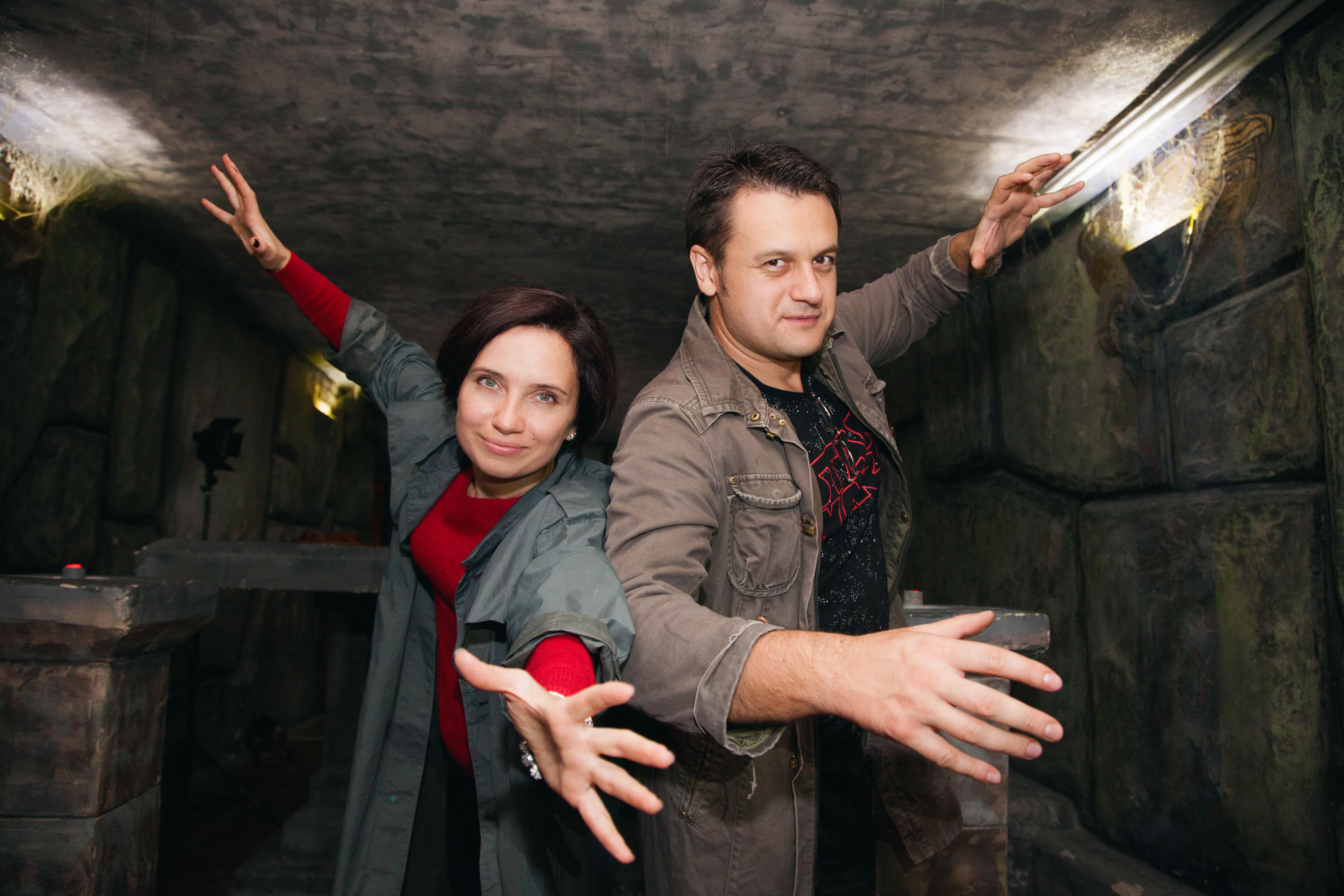 Романтический ужин в подземелье от сервиса романтики Альтечо (10)