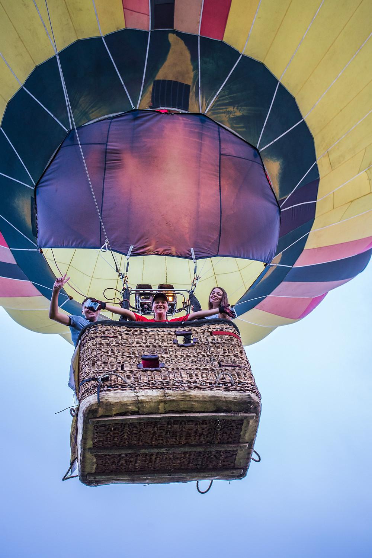 Предложение руки и сердца на воздушном шаре, Киев, Сервис романтики Альтечо