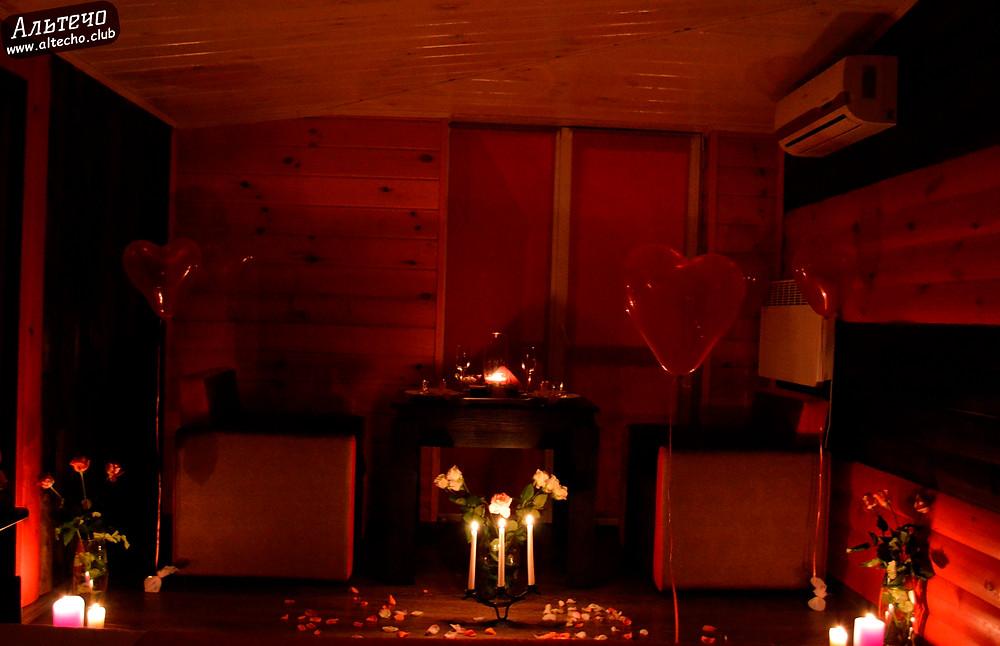 Альтечо, Романтический вечер, Свидание на крыше, ужин для двоих  9