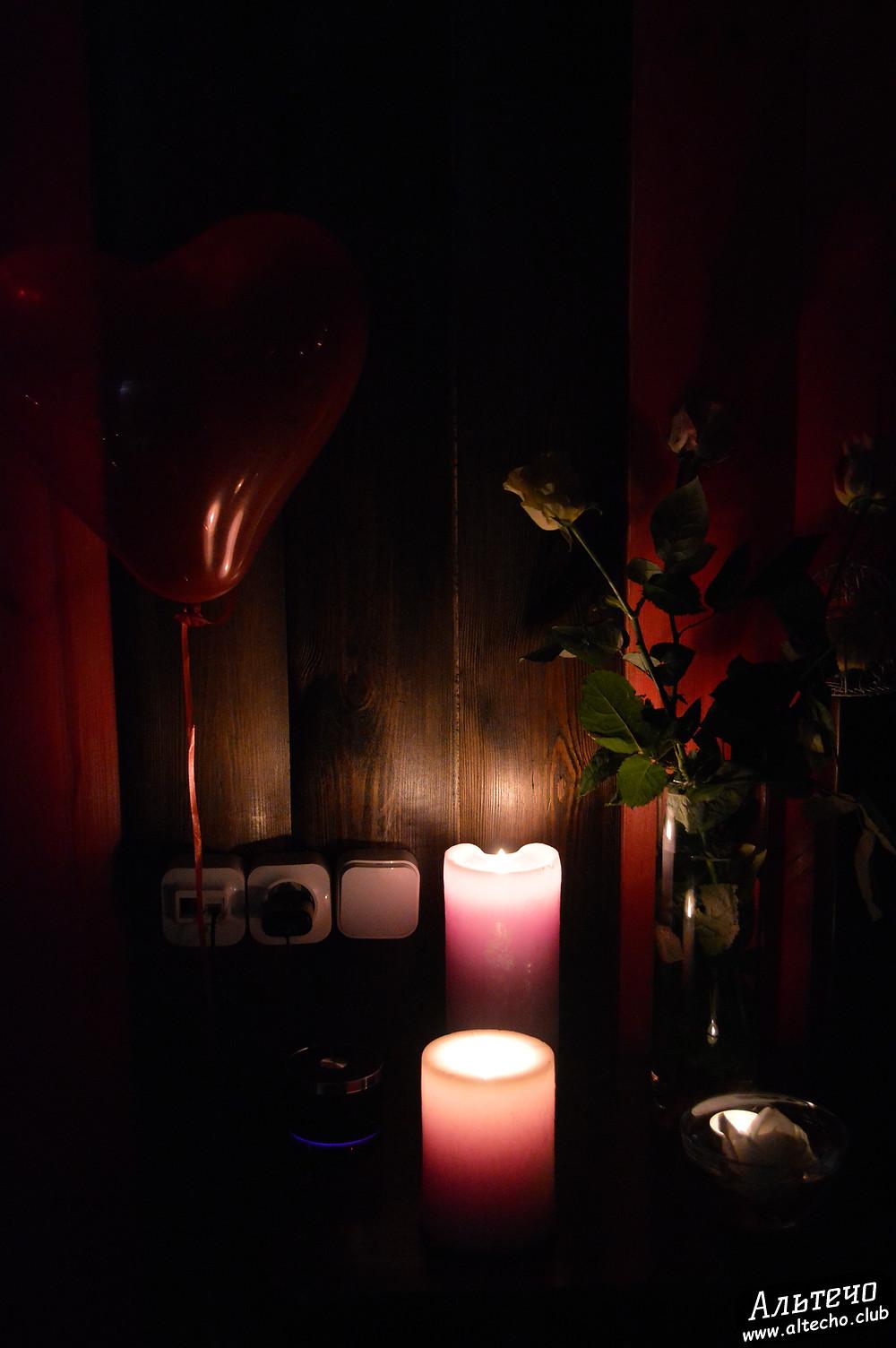 Альтечо, Романтический вечер, Свидание на крыше, ужин для двоих  6
